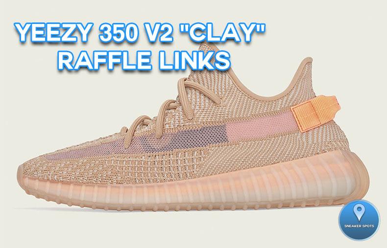 "Yeezy 350 V2 ""Clay"""