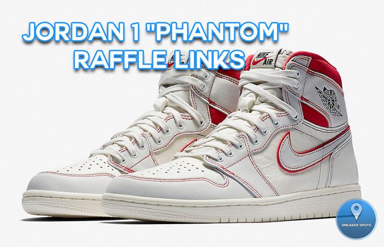 "Jordan 1 ""Phantom"""