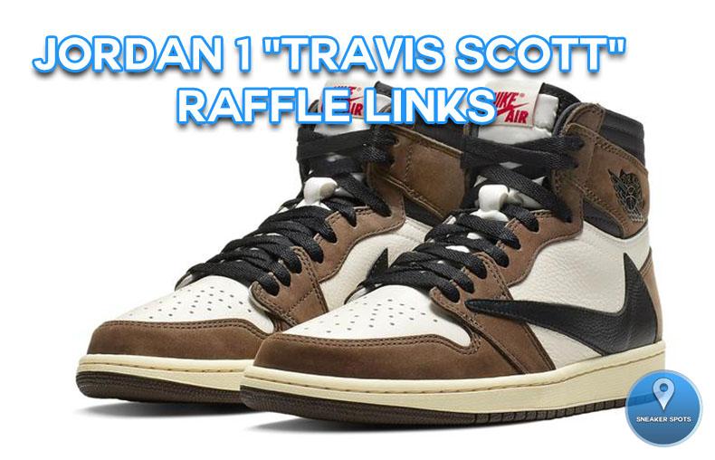 "Jordan 1 ""Travis Scott"""