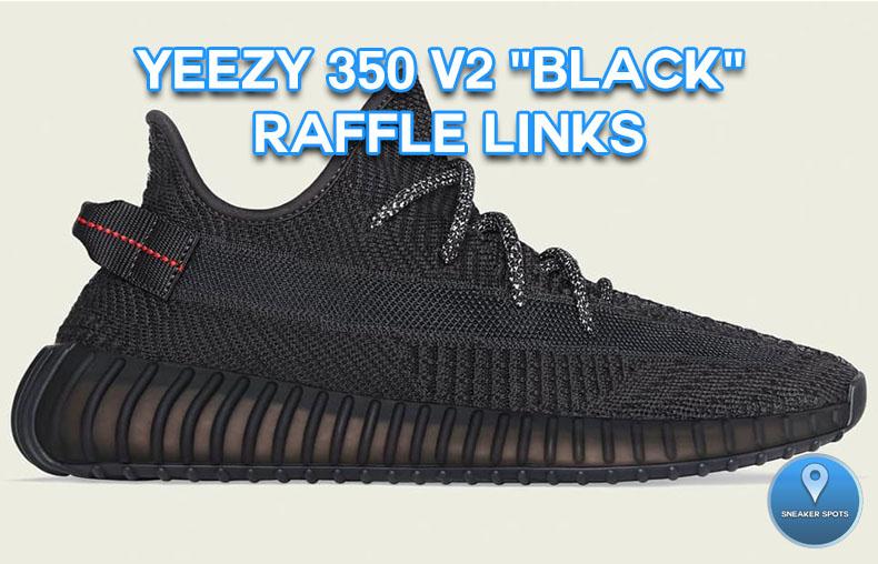 """Yeezy 350 V2 """"Black"""""""