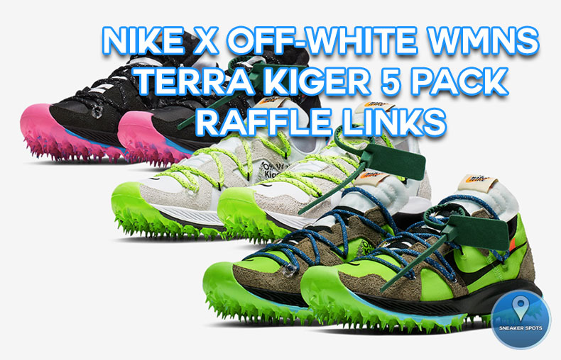 Nike X Off-White WMNS Zoom Terra Kiger 5