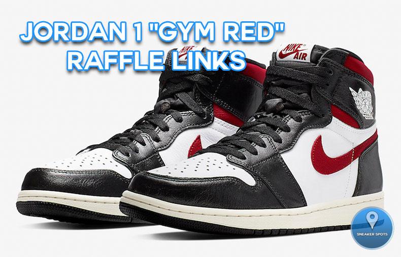 """Jordan 1 """"Gym Red"""""""