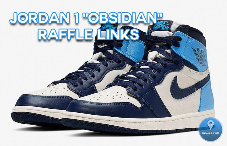 "Jordan 1 ""Obsidian"""