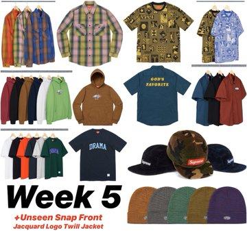Supreme Week 5