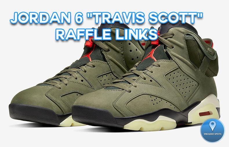 "Jordan 6 ""Travis Scott"""