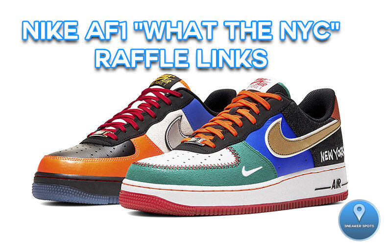 """Nike Air Force 1 """"What the NYC"""""""