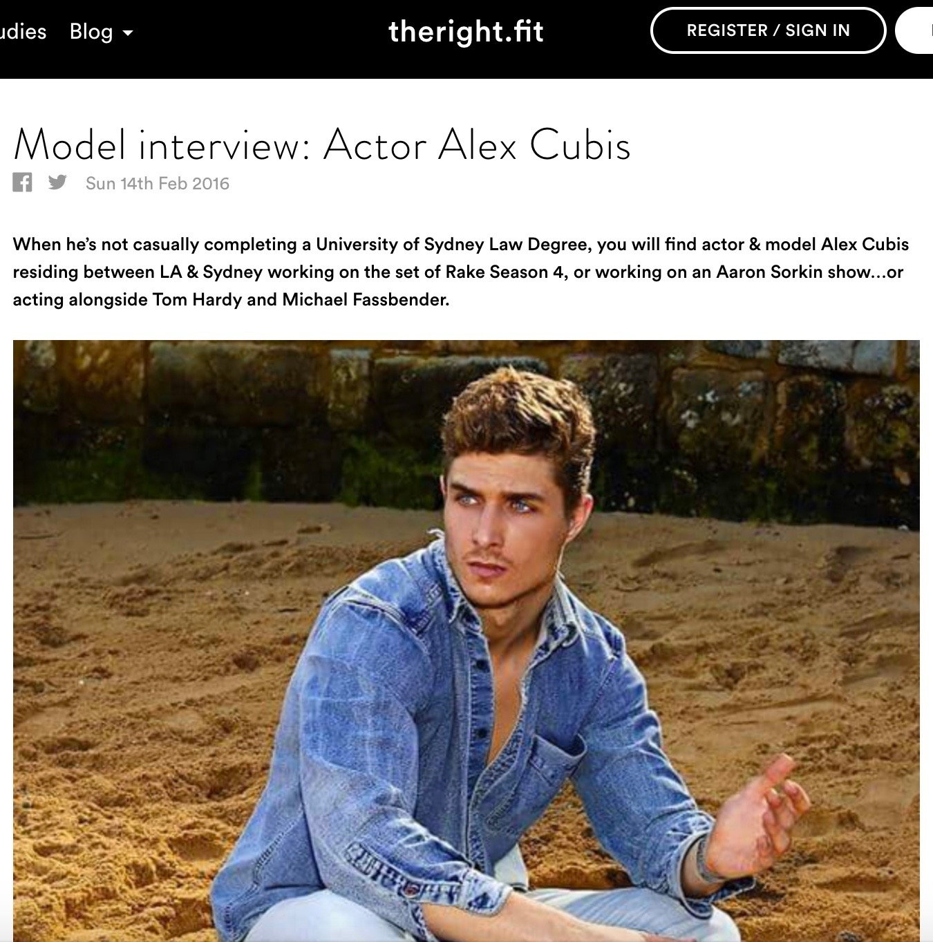 theRight.fit Blog: Alex Cubis Interview
