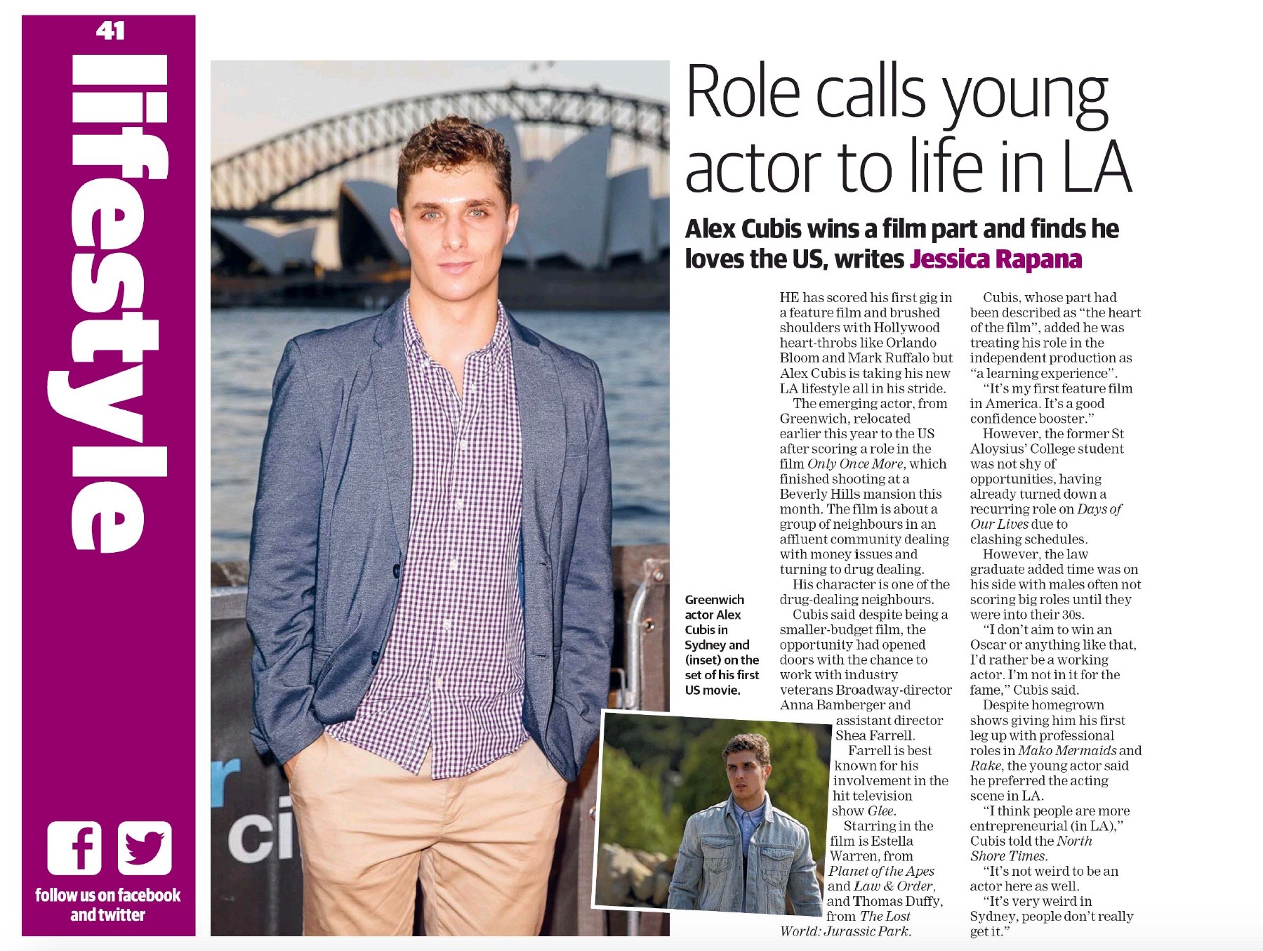 News Corp Profile: Alex Cubis (2016)