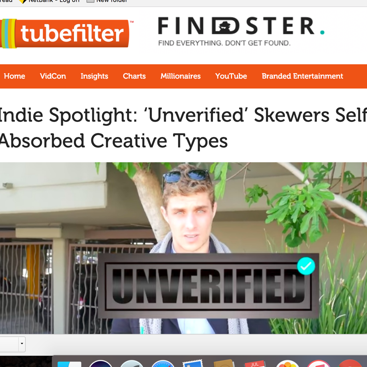 Tubefilter Profile: UNVERIFIED by Alex Cubis