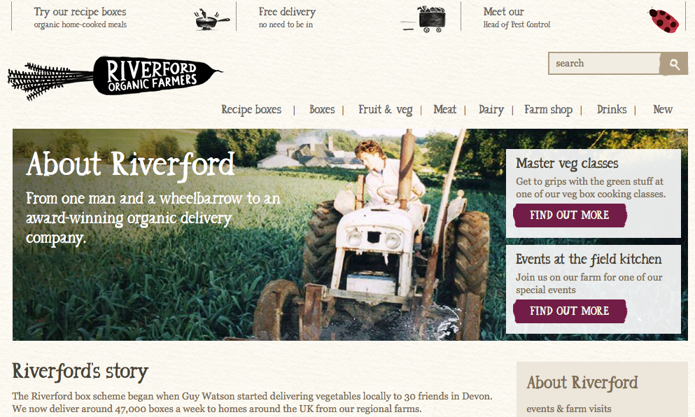 Riverford Farm – re-thinking the way we work together, for good!