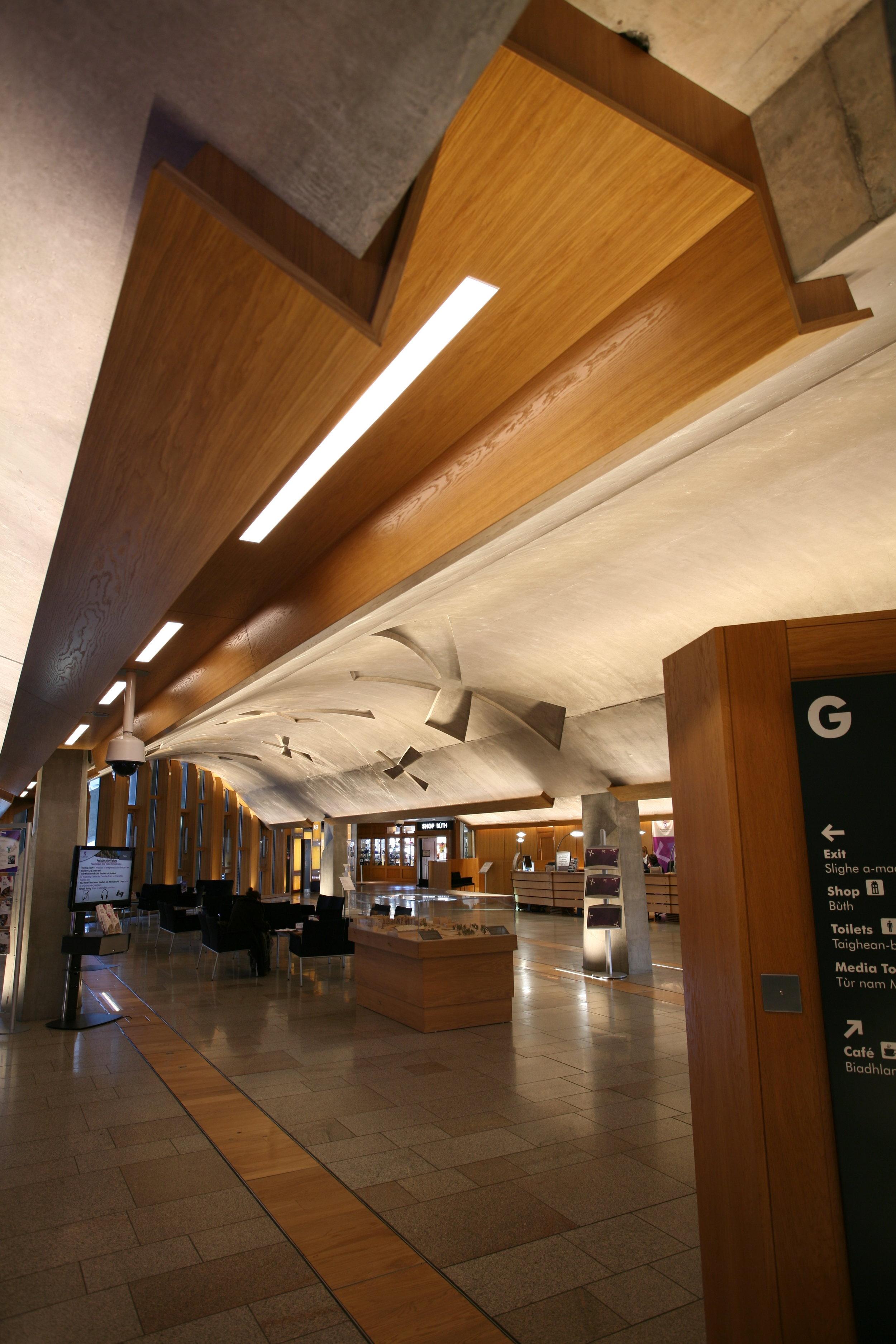 Scottish Parliament Main Hall