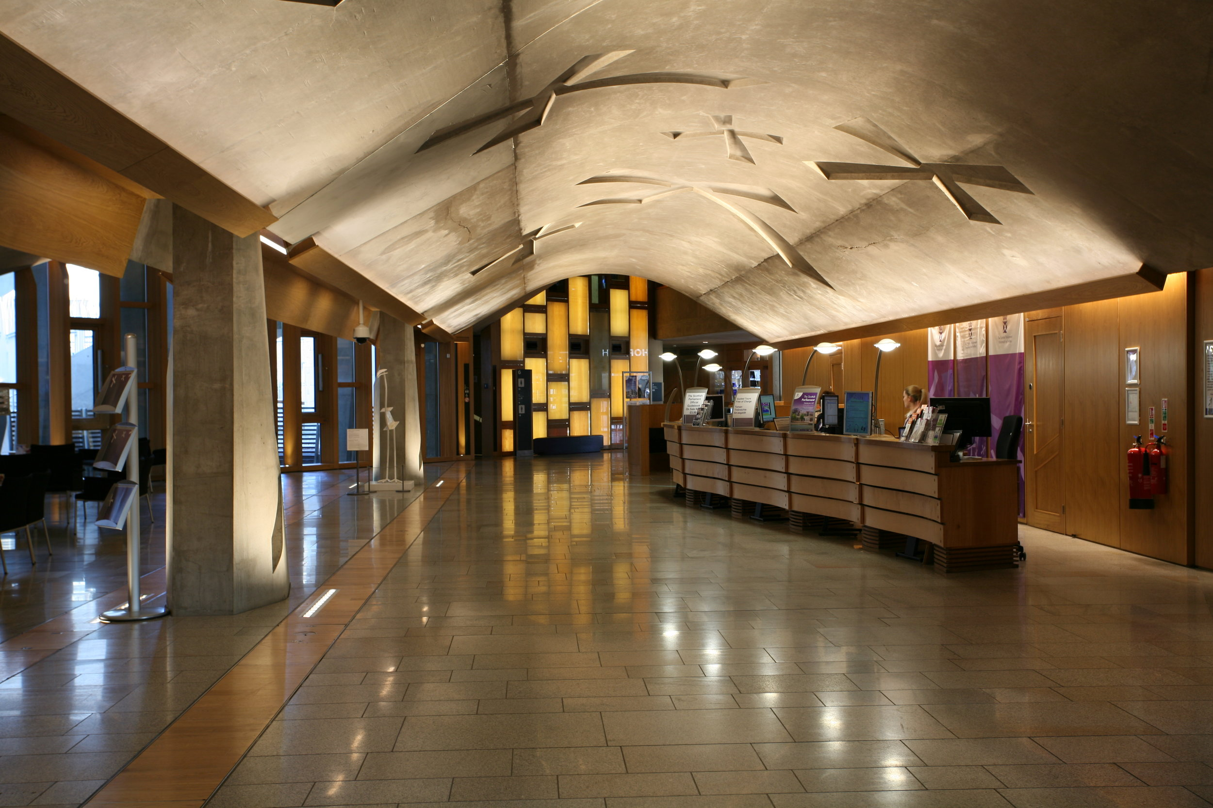 Scottish Parliament, Main Hall