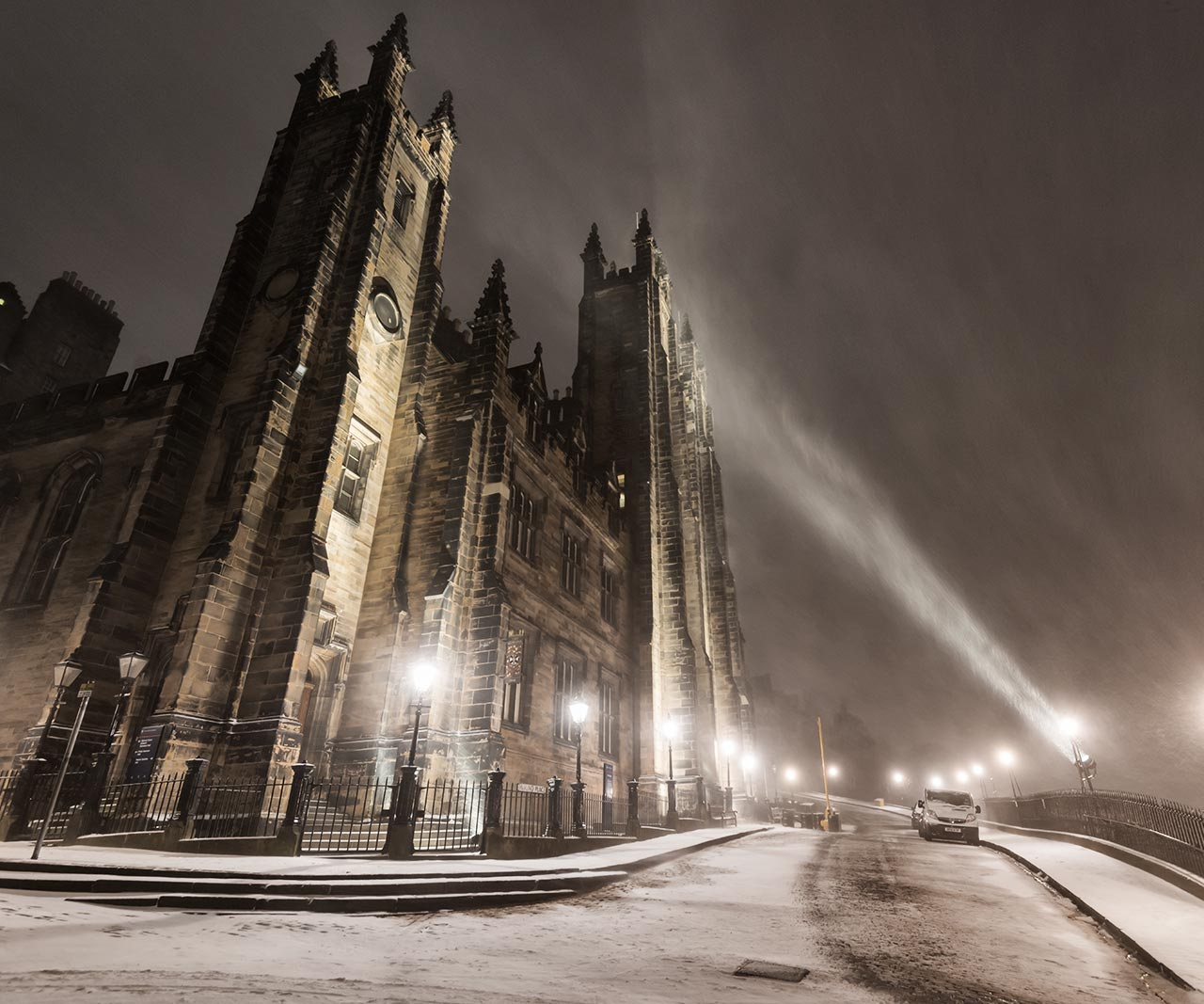 New College, University of Edinburgh
