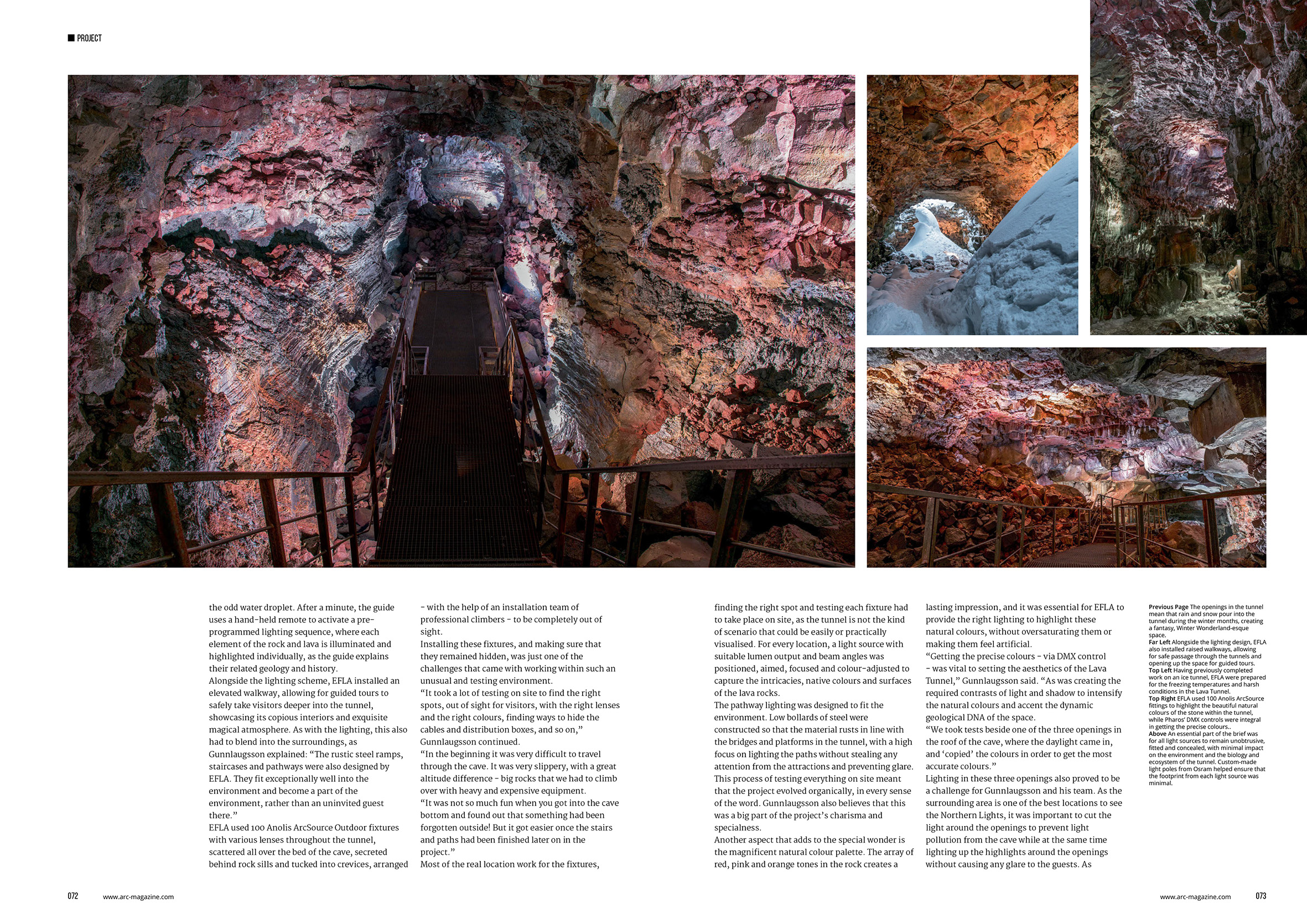 arc magazine_107_Lava Tunnel article_pp72-73w.jpg