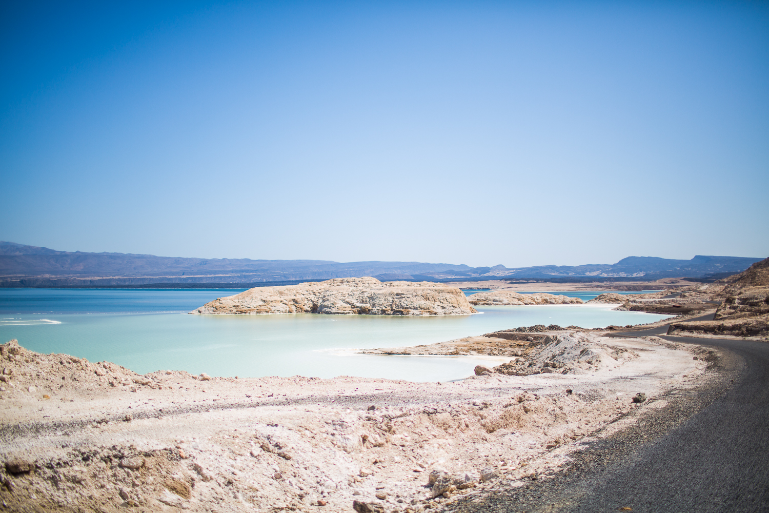 Lac Assal, the saltiest lake in the world & the lowest point in africa