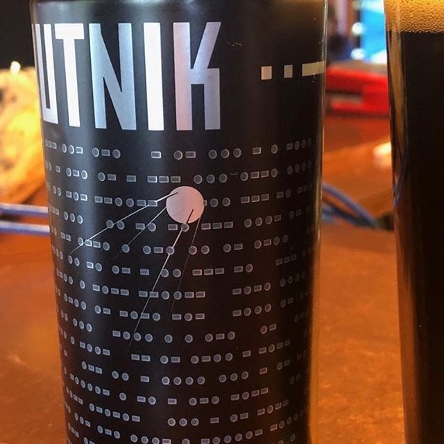 Found a new beer. The ingredients are in Morse Code