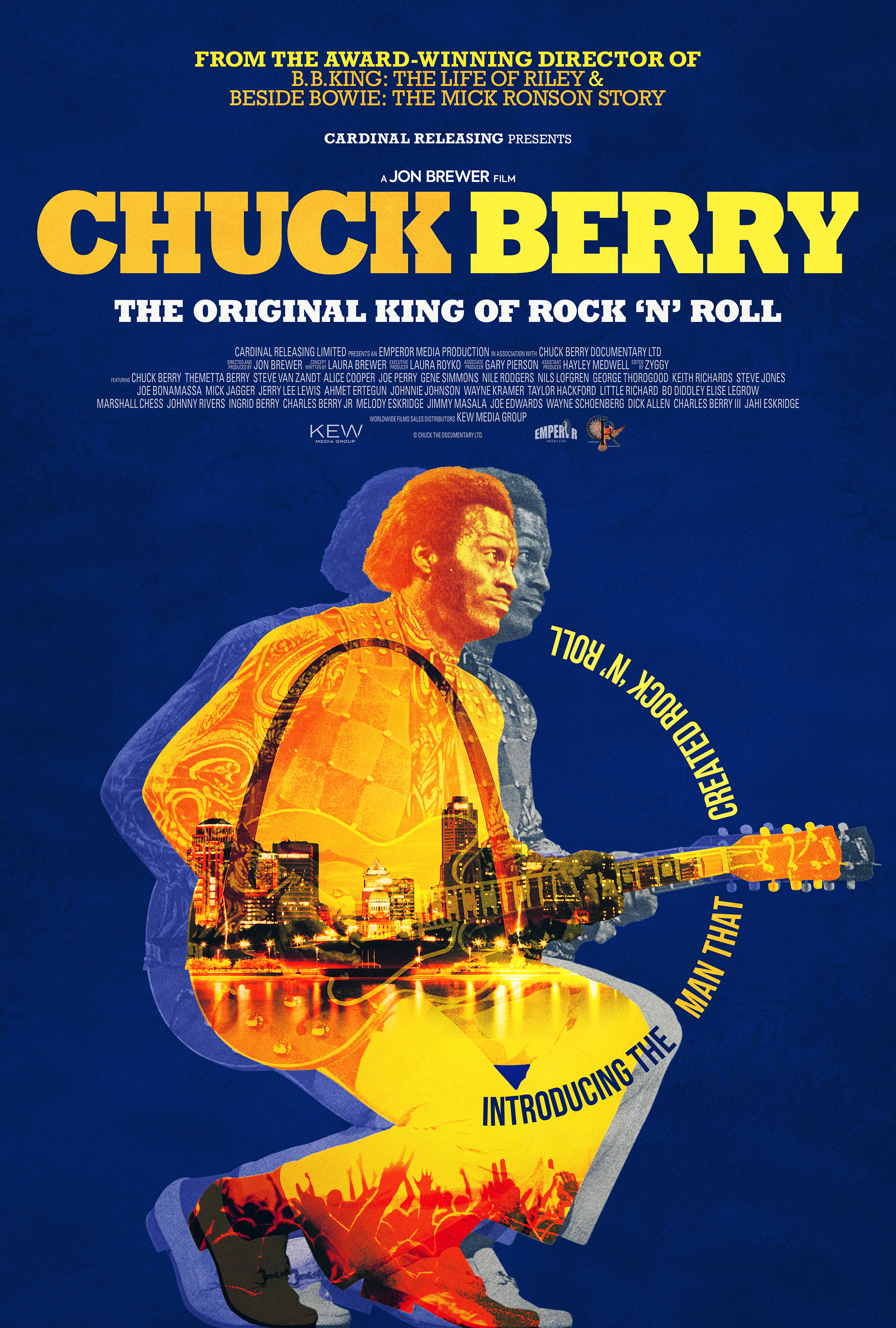 Chuck Berry: The Original King of Rock 'n' Roll