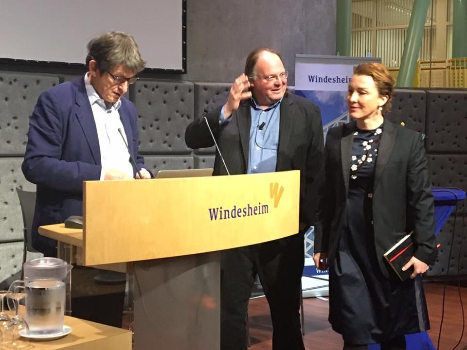 With Alan Rusbridger, Reuters Institute and Ethan Zuckerman, MIT. (2016)