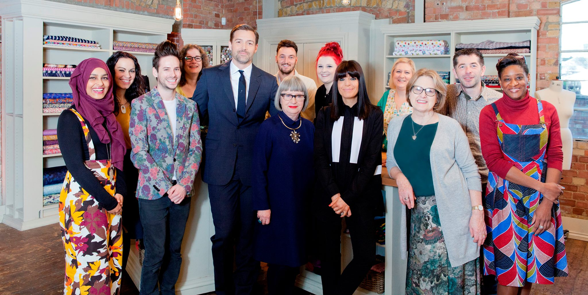 Photo from  Facebook - The Great British Sewing Bee