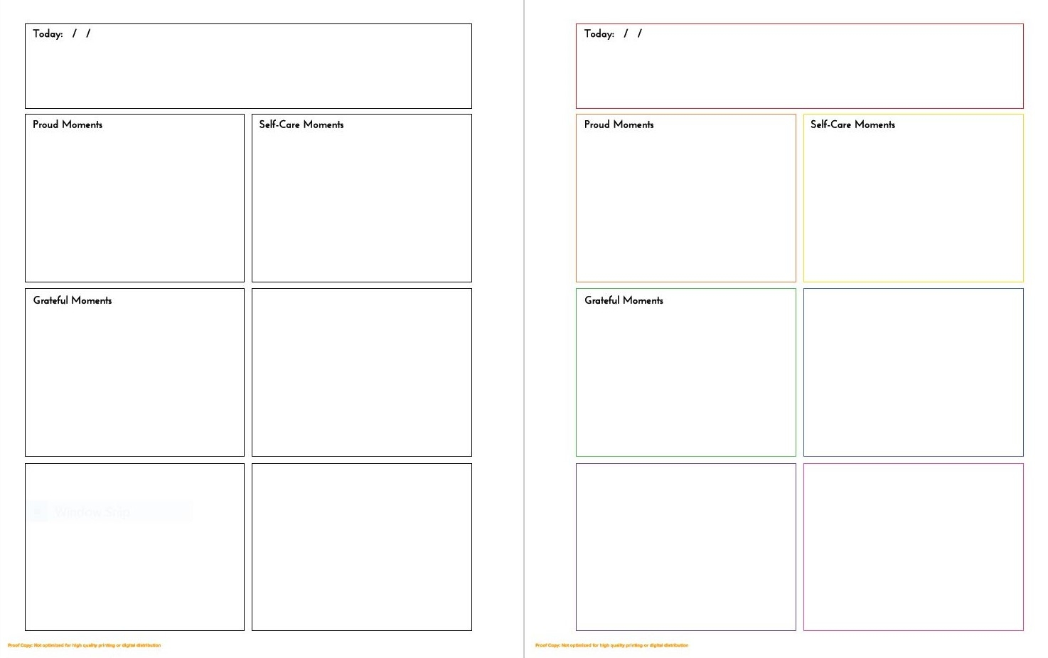Example Page Layout
