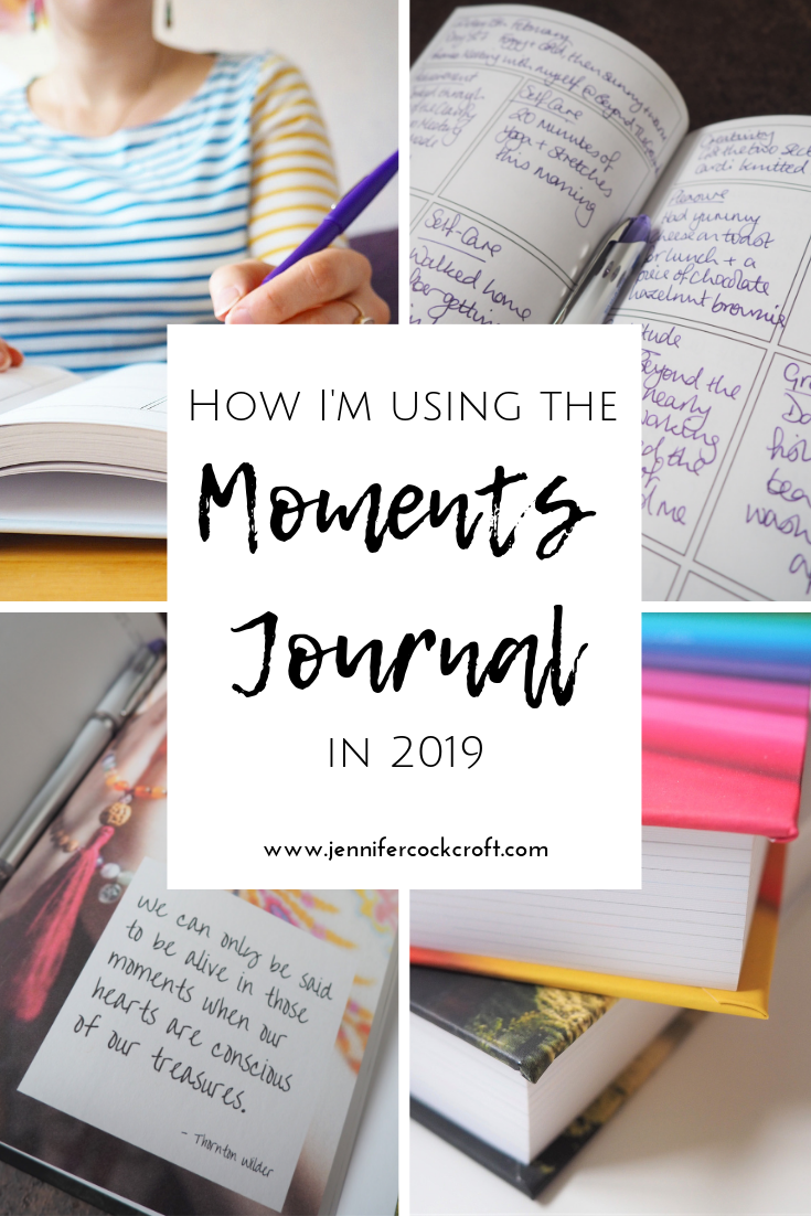 How I'm using the Moments Journal