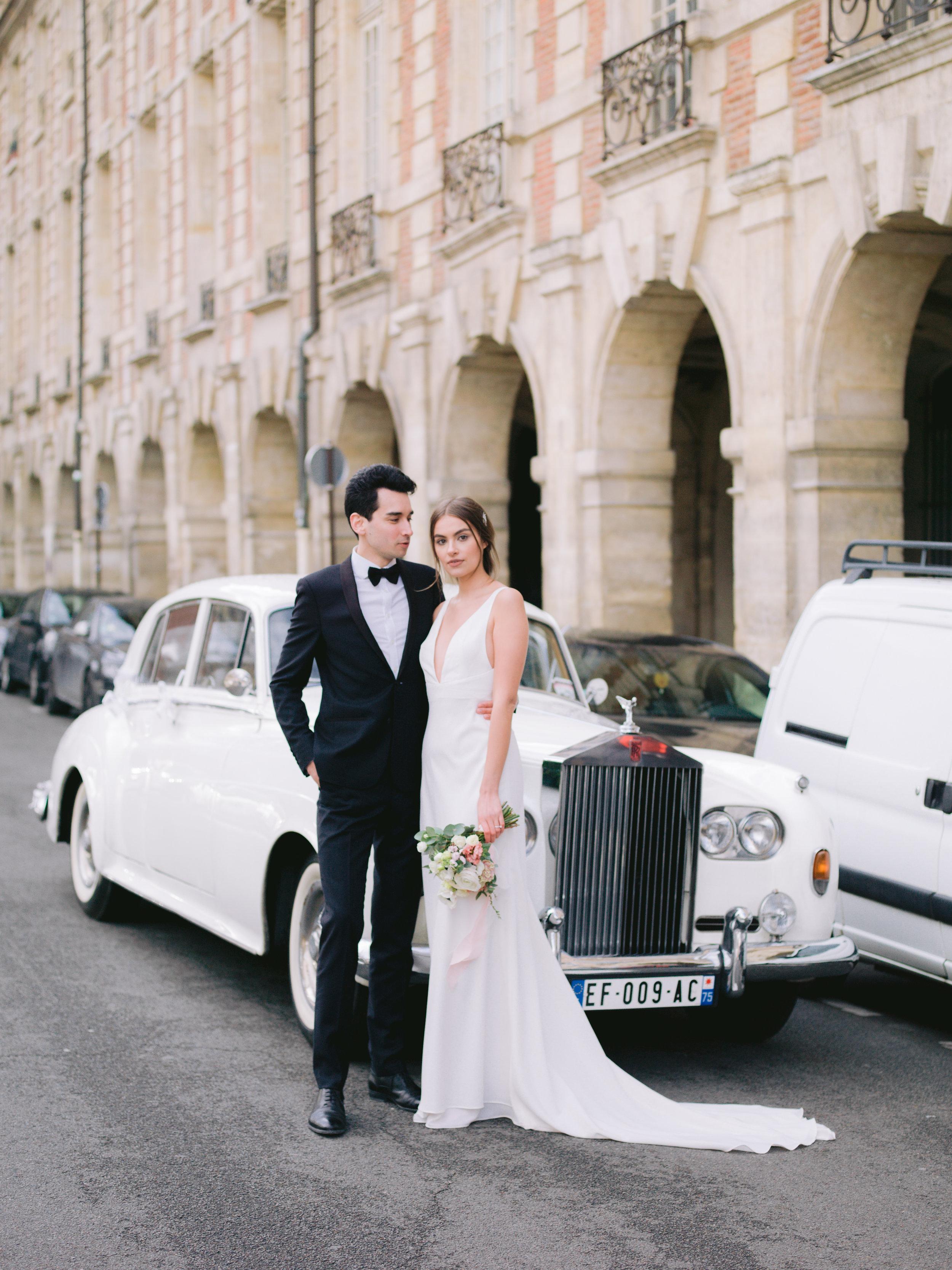 O & C ~ Engagement élégant et chic dans la ville lumière, Paris