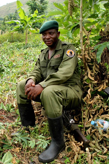 """Rodrigue Katembo: """"We must provide our park rangers the material and financial means to defend Congo's protected areas from environmental crimes.""""Picture: Goldman Environmental Prize 2017."""