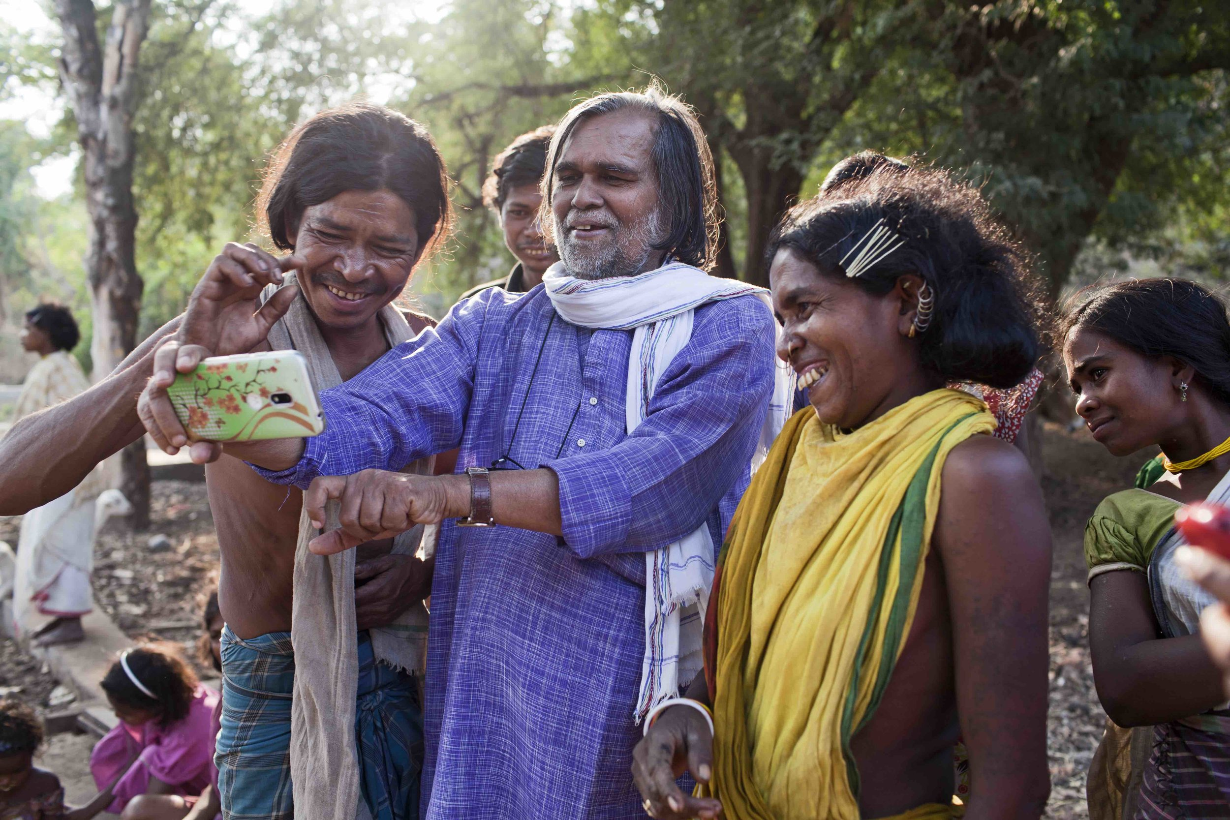"""Prafulla Samantara:""""By protecting the tribal people, we protect nature. This is our greatest responsibility."""" Picture: Goldman Environmental Prize 2017."""