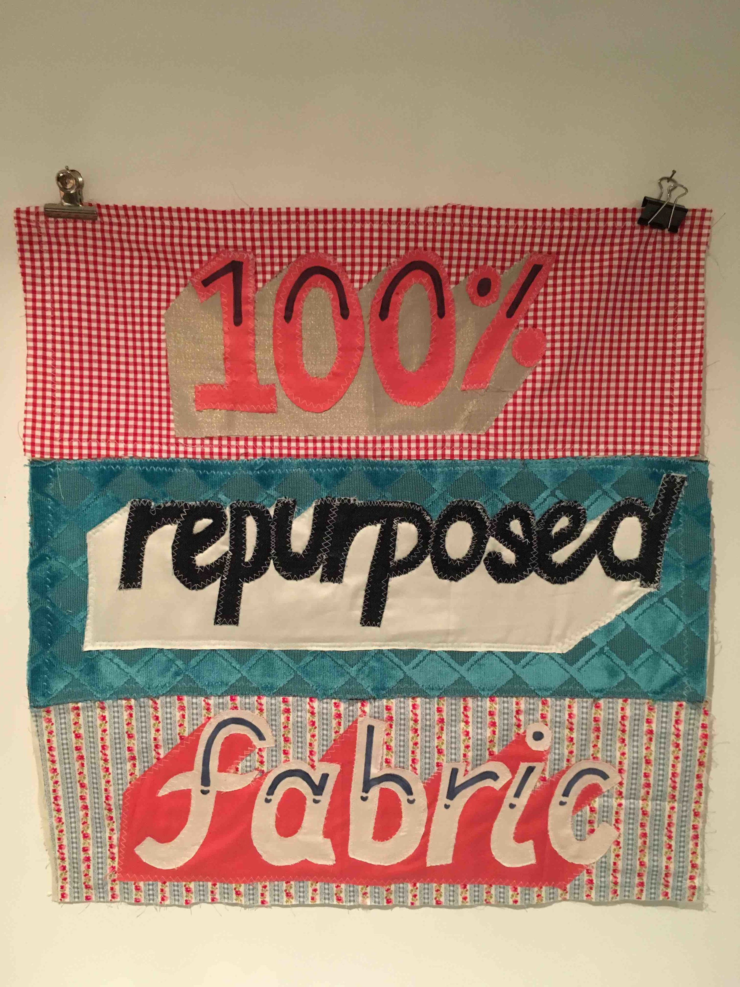 """- When we toss away fabric, we toss away the raw materials it's made from, the water that goes into washing, the toxins that go into treating it and the energy that go into manufacture. It's no accident that fashion is the world's second most polluting industry. Reducing CO2 emissions is built into the essence of FRP and, by extension, Rummage & Bolt. """"You don't equate fabric with CO2 emissions,"""" admits Hannah. """"But the data, when it's in black and white, is shocking."""" Waste fabrics come from a variety of sources, including theatre and fashion production companies. The first donation came from Cheekyhandmades, which runs sewing workshops. """"They donated 13 bolts and one bag of scraps, almost 84kg of fabric,"""" says Hannah. """"This amount diverted from landfill saved 357.42 lbs of CO2 emissions."""""""