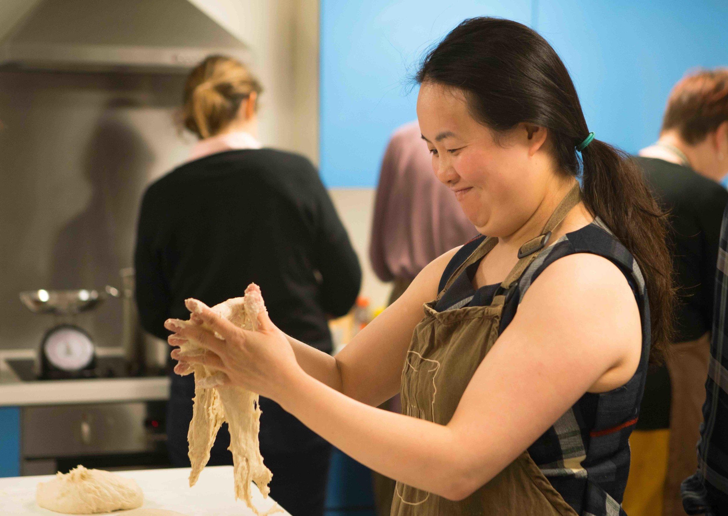 Making bread. Picture:Lauren Anders Brown