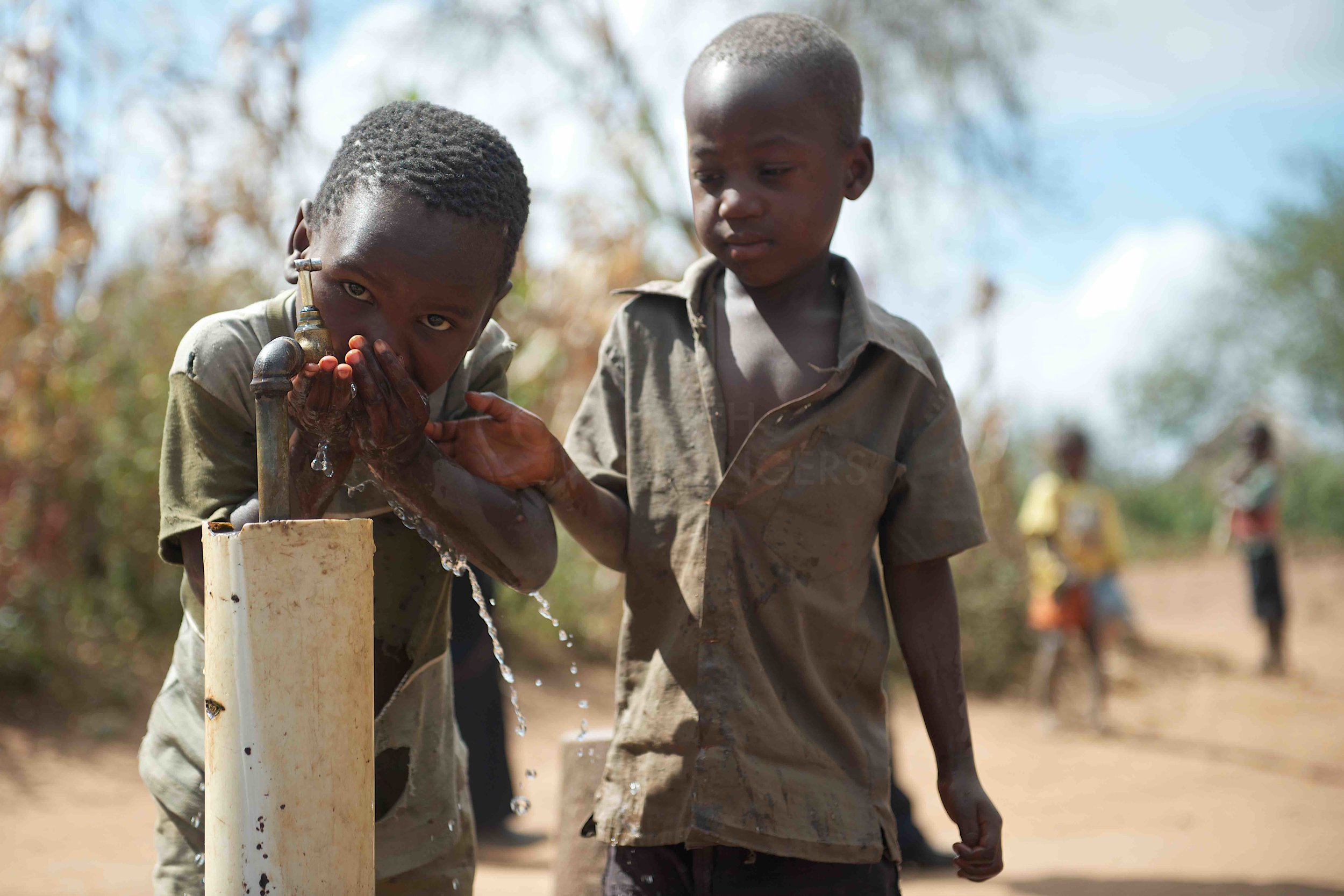 Water project in Malawi. Picture: Earthchangers.