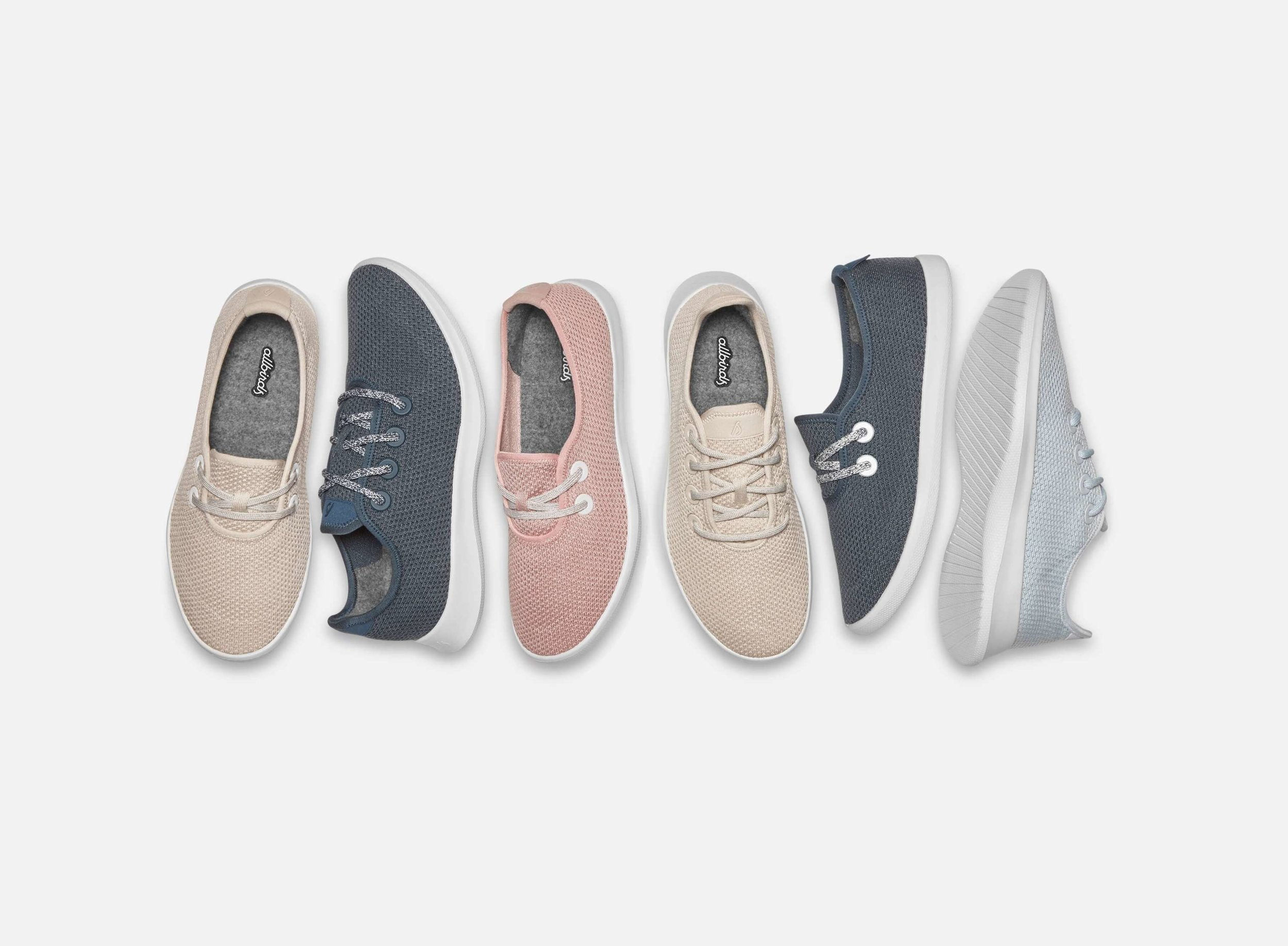 Allbirds unveils the Tree line, shoes made from eucalyptus tree fibre. Picture: Allbirds.