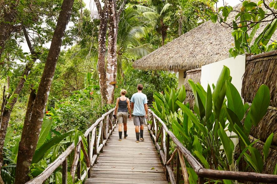 Named after the River of Scarlet Macaw, Lapa Rios is a 930 acre private nature reserve located in Central America's last remaining lowland dense tropical rainforest.