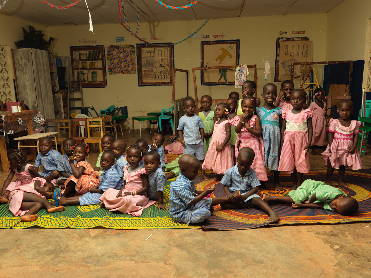Les Piazons nursery school, Yakassé-Attobrou, built with Fairtrade Premium. Picture: Peter Caton.
