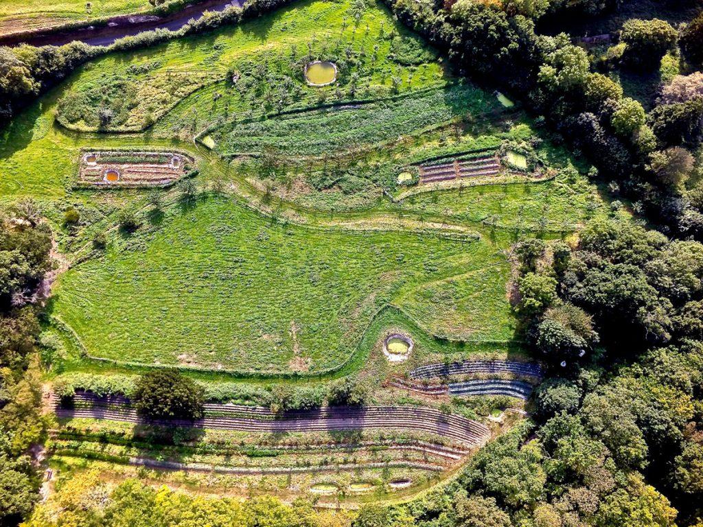 Bec Hellouin is a market garden farm in Normandy.