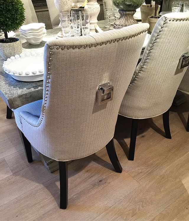 Herringbone & Knocker Back Dining chairs 😍😍😍 #interiorinspo #furnituresupplier #interiordesign #gosforth