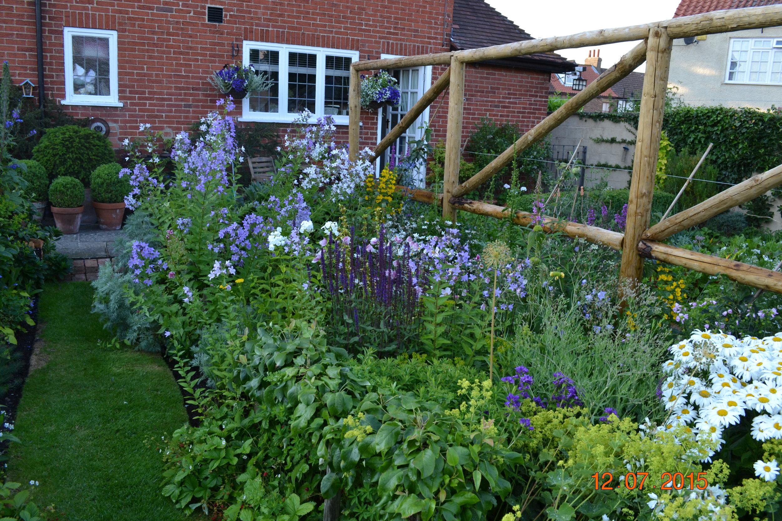 Wales 2015 garden summer flower arranging at home 018.JPG