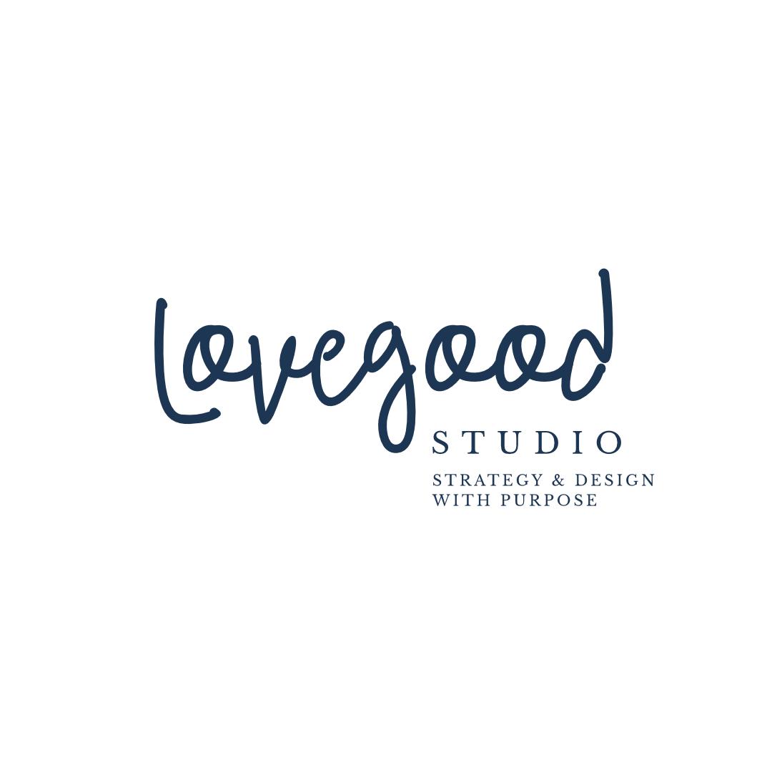 Lovegood Studio - Mission-Driven Strategy & Design   Logo design, social graphics design
