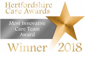 Most Innovative Care Team Award - winner logo.png
