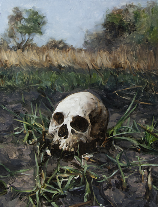 Meadow / oil on panel / 60 x 45 cm / 2018