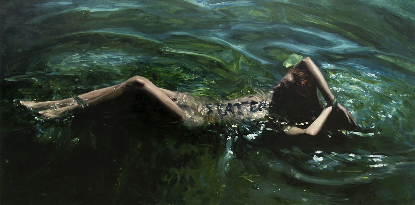 STATERA (triptych) / oil on linen / 300 x 150 cm / 2017