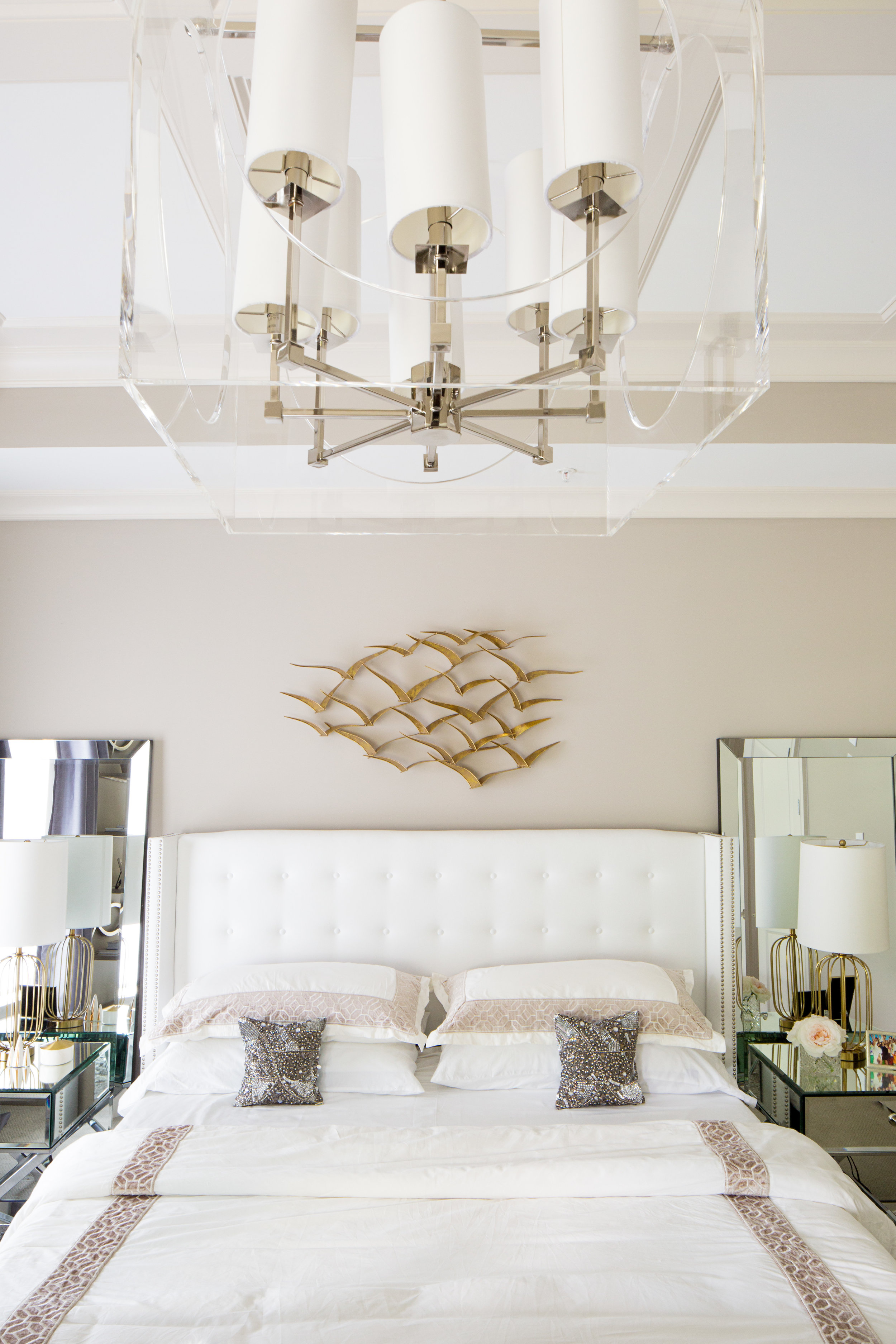 Art Deco Master Bedroom — FORBES+MASTERS
