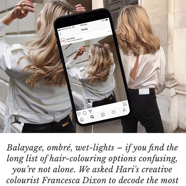 ROLL UP ROLL UP READ ALL ABOUT IT 🖤D E C O D E I N G H A I R C O L O U R 🗞 full article taking you through all the different types of hair colour and the things you need to know. It's so important to teach your clients. SWIPE UP to read the article on my STORY or go to the LINK IN MY BIO 🖤 thank you @sheerluxe 🖤 enjoyyyy • • • #fdhair #story #hairdecoded #hairarticle #hairhacks #hairfacts #hairquestions #hairanswers #balayage #ombre #dipdye #wetlights #highlights #lowlights #teaching #journalist #sheerluxe #amoniafree #permanenthaircolour #glossyhair #happyhair #hairknowledge #haireducation #fallhair #hairtrends #tophair #londonhair #chelseahair #linkinbio