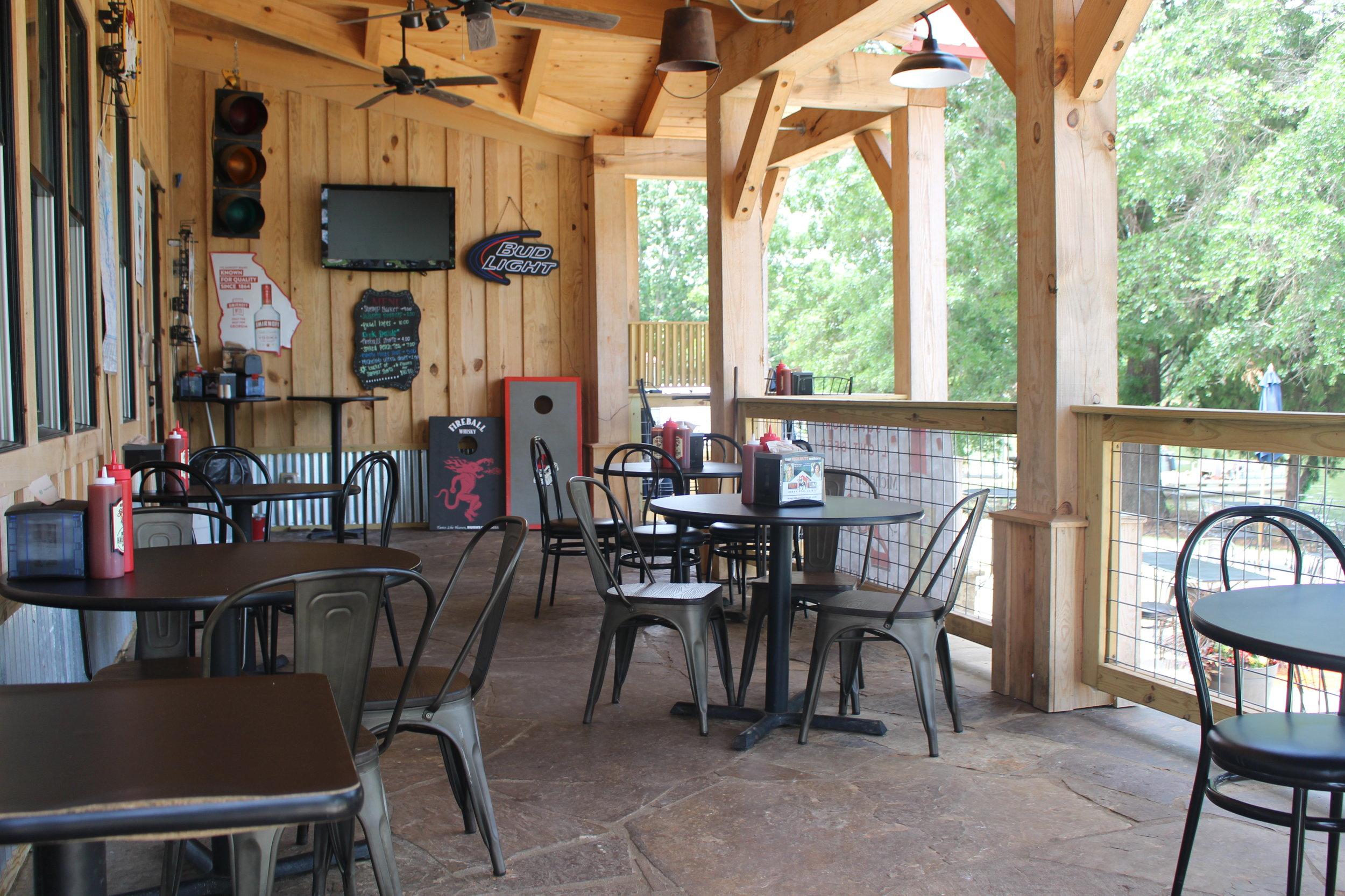 GA Butts patio | LakeOconeeLife.com
