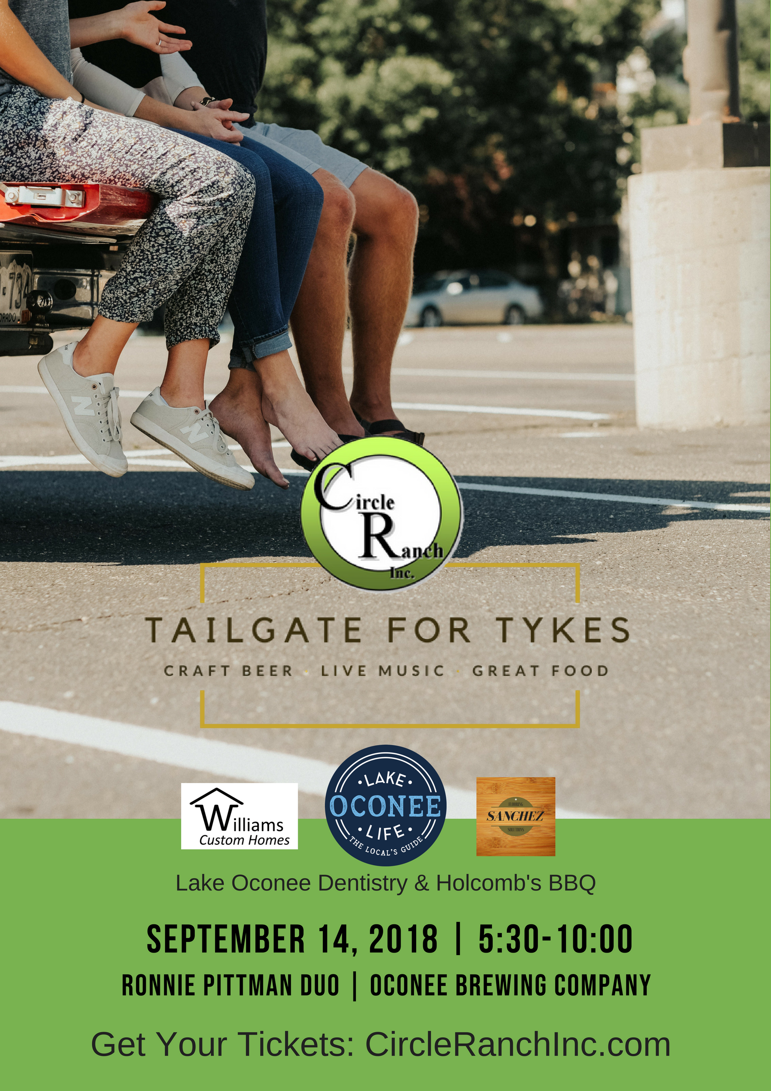 Tailgate For Tykes | LakeOconeeLife.com