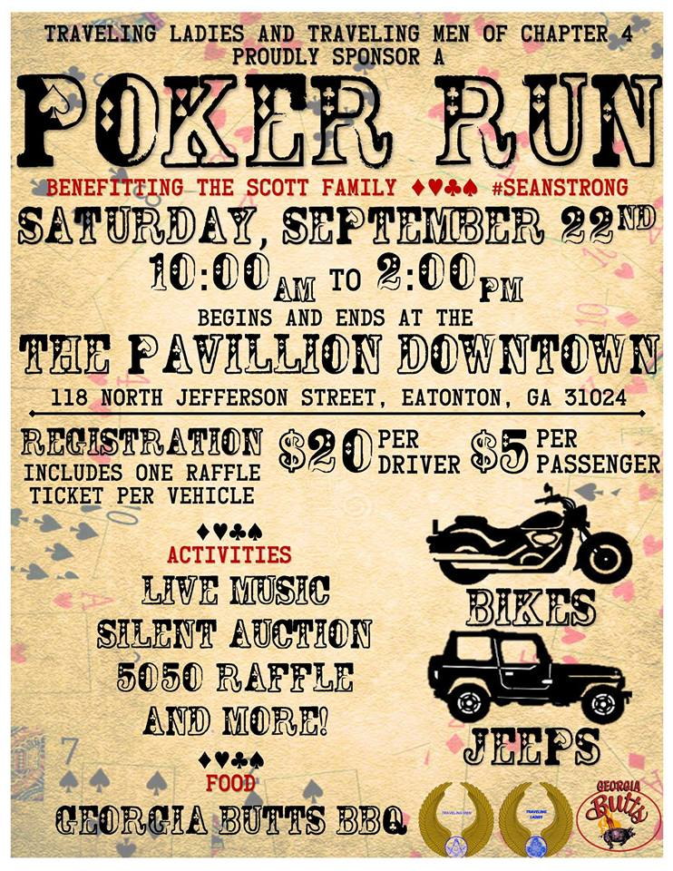Poker Run Eatonton |LakeOconeeLife.com