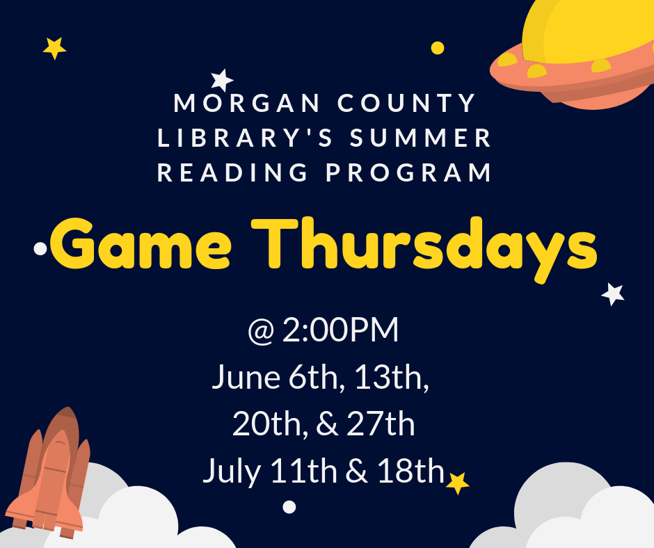 Game Thursdays Morgan |LakieOconeeLife.com
