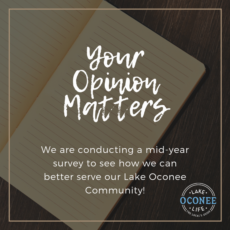 Your Opinion Matters | Lake Oconee Life