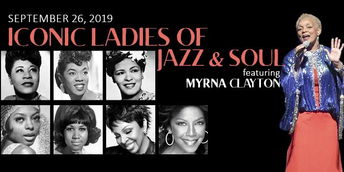 Iconic Ladies of Jazz & Soul featuring Myrna Clayton | Lakeoconeelife.com
