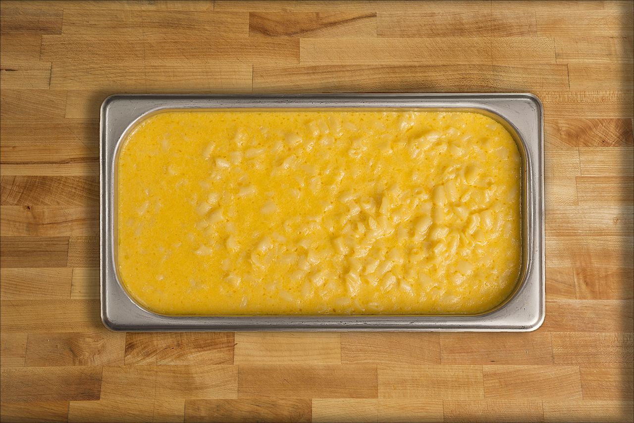 "Mac 'n Cheese   The following is placeholder text known as ""lorem ipsum,"" which is scrambled Latin used by designers to mimic real copy. Sed a ligula quis sapien lacinia egestas. Maecenas non leo laoreet, condimentum lorem nec, vulputate massa. Donec ac fringilla turpis. Vivamus sit amet semper lacus, in mollis libero."